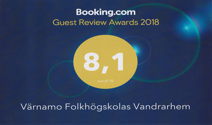 Bookings utmärkelse